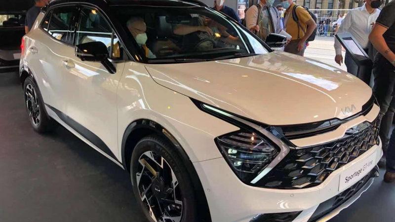 В Мюнхене показали европейскую версию Kia Sportage 2022