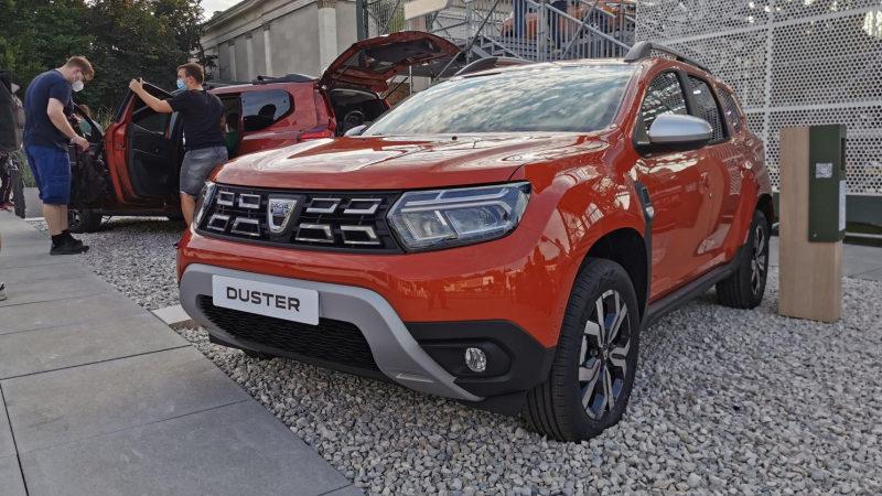 В Мюнхене показали обновленный кроссовер Dacia Duster 2021