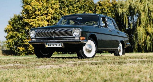 Волга, которая оснащалась мотором от BMW 2500