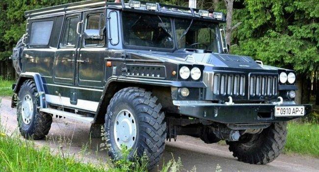Житель Витебска разработал вездеход на базе грузовика «Шишига»
