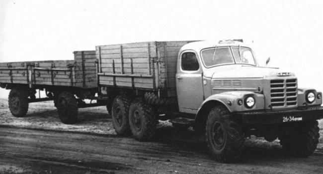 Чем отличался армейский грузовик ЗИЛ-157 от своего гражданского варианта