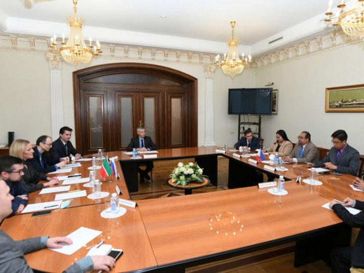В Исполкоме Казани состоялась встреча с делегацией Посольства Республики Филиппины в России
