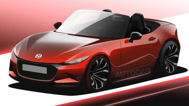 Mazda MX-5 2024 получит двигатель внутреннего сгорания