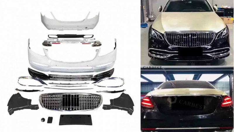Mercedes-Benz E-Class 2021 превратили в Maybach за 80 тысяч