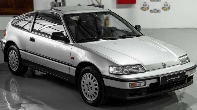 На аукцион выставили редкую Honda CR-X 1990 года без пробега (ФОТО)