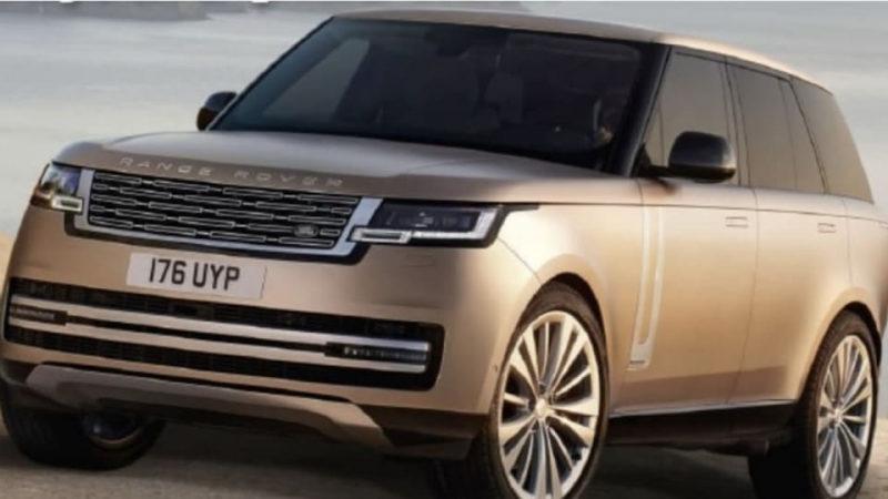 Новый Range Rover 2022 года случайно рассекретили на фото