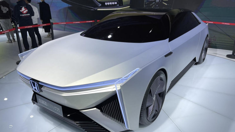 Официально представлен концепт Honda e: N Coupe 2022
