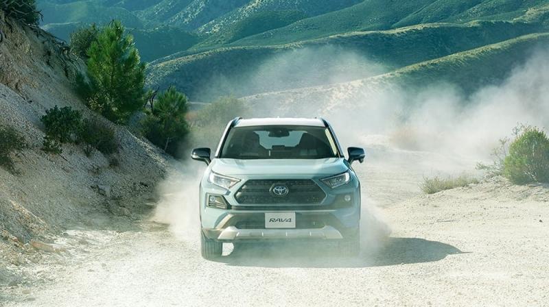 Официально представлен новый Toyota RAV4 Adventure 2022