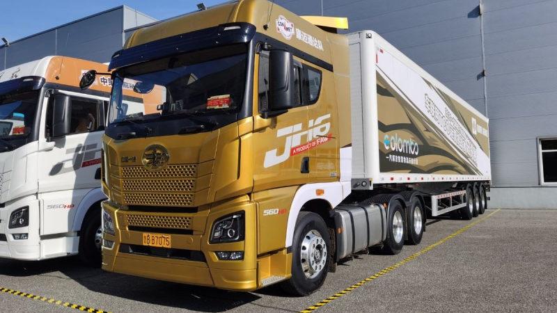 Представлен новый тягач FAW Jeifang JH6 2022