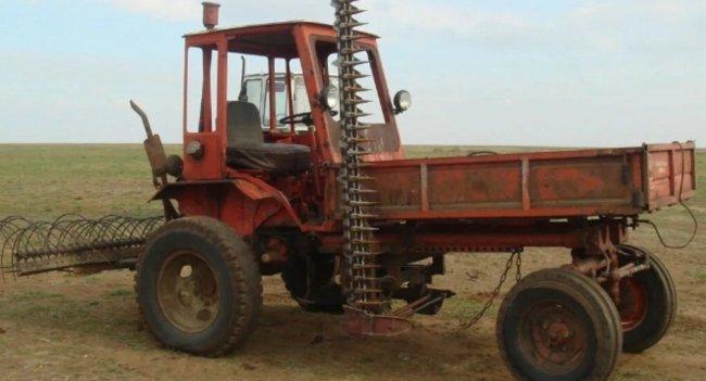 Редкий советский трактор Т-16 «Шассик»